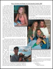 Corbett Christmas Letter 2005 PDF