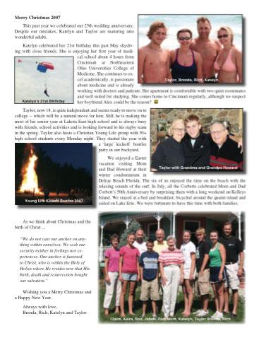 Corbett Christmas Ltr 2007 thumbnail