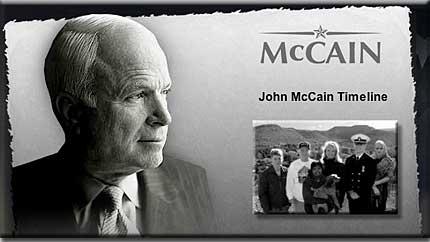 John McCain Timeline