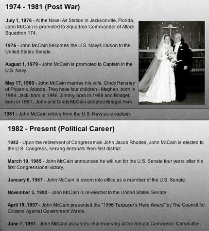 John McCain Timeline p3