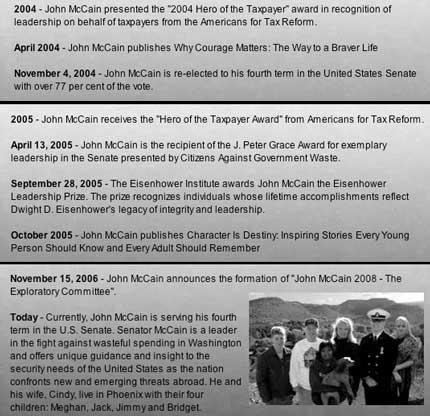 John McCain Timeline p5