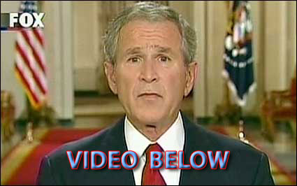 President Bush speaks to the nation