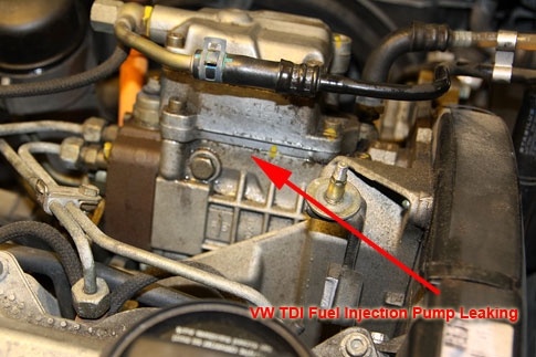 Injection Pump Leaking