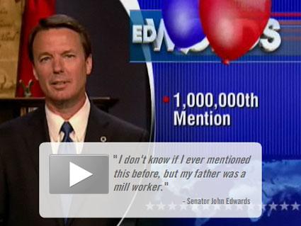 John Edwards on Colbert Report