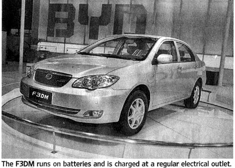EV from BYD in China