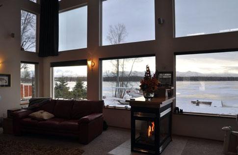 Gov. Palin Home in Alaska