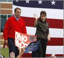 Palin Boehner