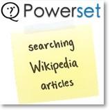 Powerset.com Searching