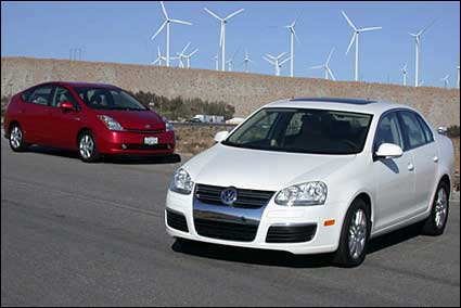 Prius and TDi
