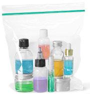 zip bags liquids