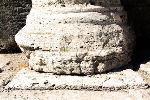 Base of Colosseum pillars