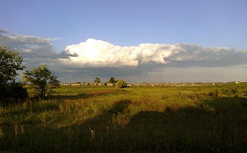 Evening Sky photo with Palm Pre