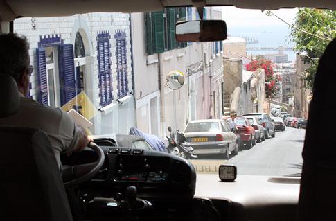 Gibraltar Narrow and Steep Roads