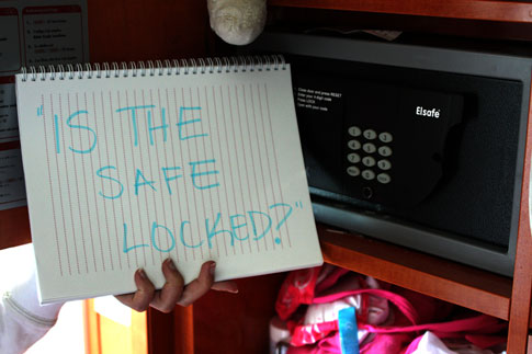 Is the Safe Locked
