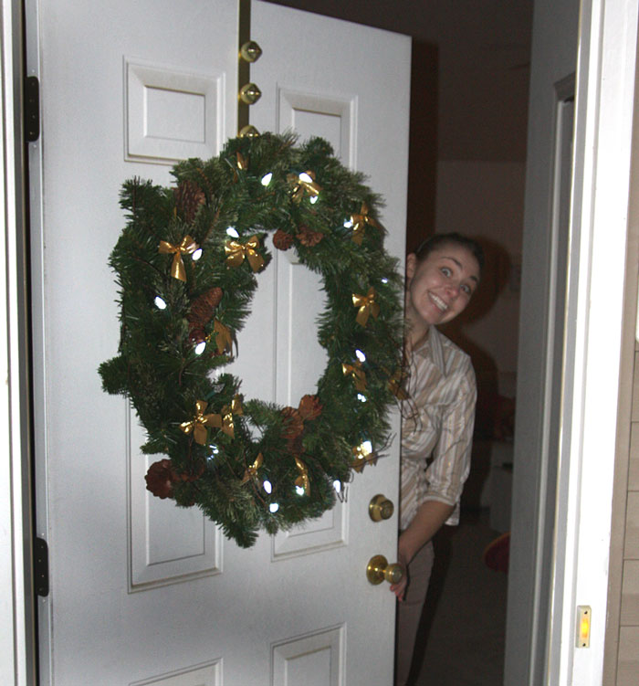 K and wreath