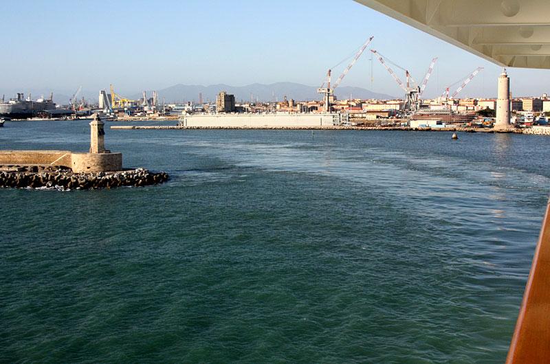 Leaving Livorno