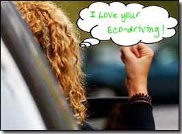 I love your eco driving