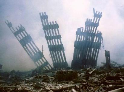 Twin Towers debris