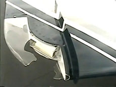 Wingtip damage