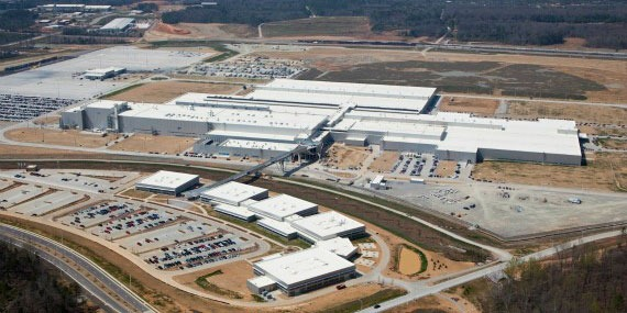 The New Chattanooga Tennessee Volkswagen Plant Opened This Past Week May 24 2017 And Is An Example Of How Vw Incorporates Its Trademarked Thinkblue