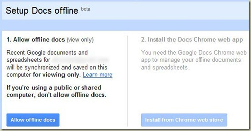 googleddocsoffline