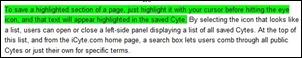 highlightingacyte