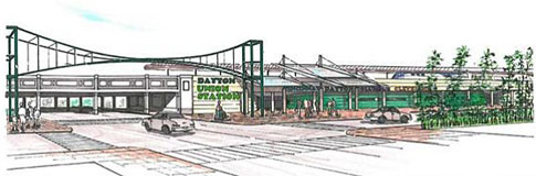Dayton Union Station concept