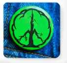Peace Earth Day Button - Clyde Witt
