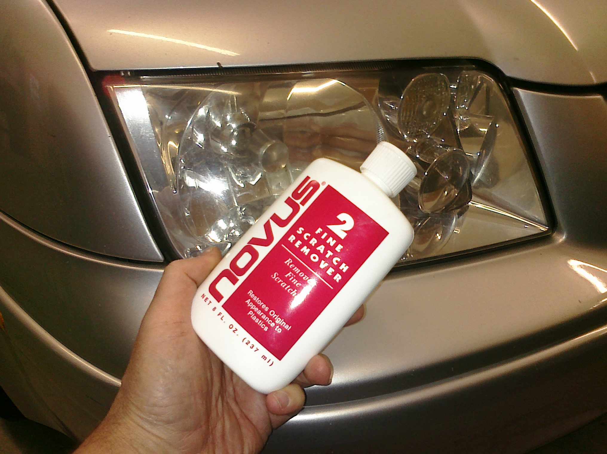 Novus Fine Scratch Remover For Headlights My Desultory Blog