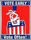 voteearlyvoteoftenposter
