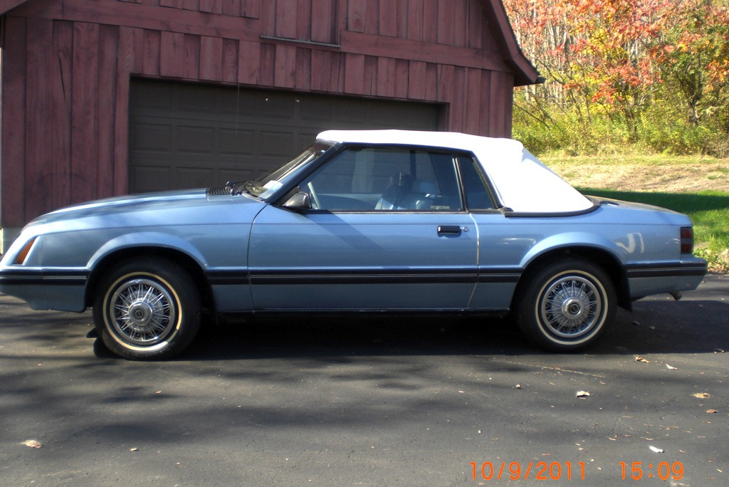 Sold 1983 Ford Mustang Convertible 6 Cylinder Automatic