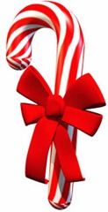 candycanewithribbon