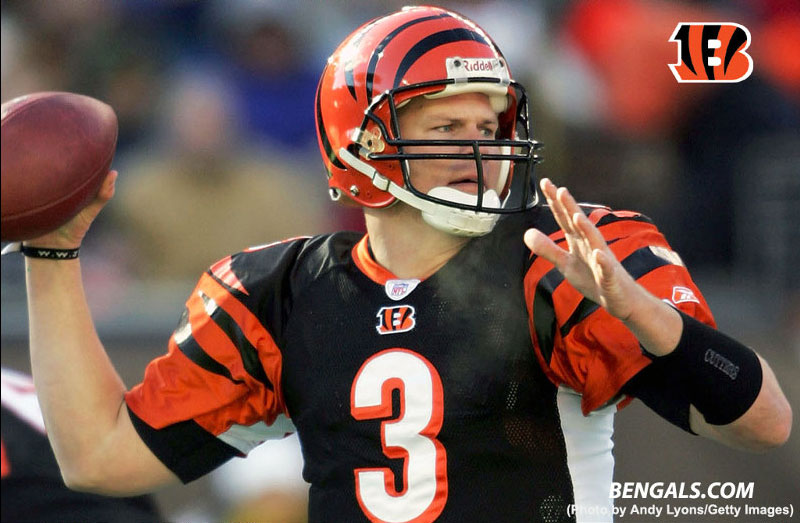 Jon Kitna in Cincinnati