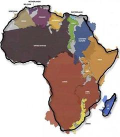 howbigisafrica