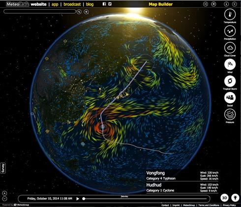 MeteoearthWebApp_Vongfong141010