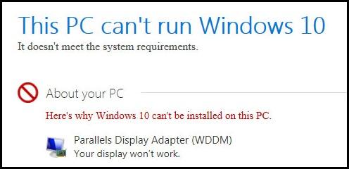 NoWindows10_Parallels4iMac