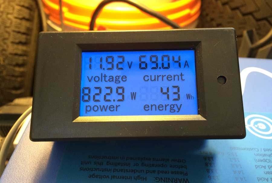 Monitoring Inverter and Battery with an inexpensive shunt | My