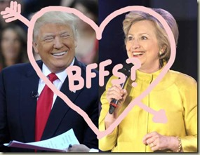 donald-trump-hillary-clinton-bffs