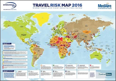 TravelRiskMap2016