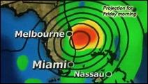 HurricaneMatthewProjection1