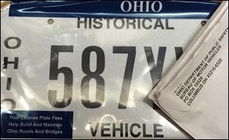 OhioHistoricalVehiclePlates151227