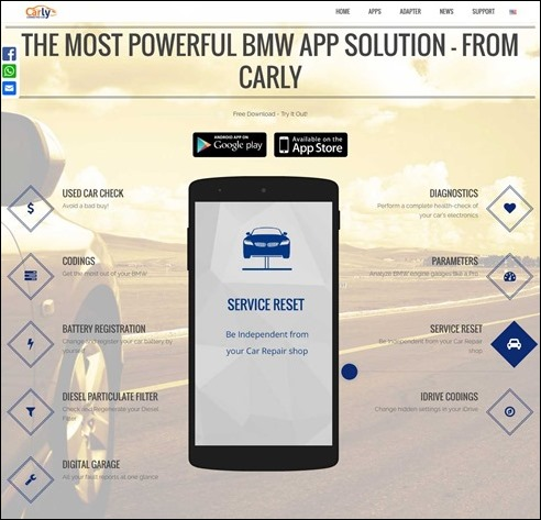 downloaded ios carly for bmw app and ordered obd adapter. Black Bedroom Furniture Sets. Home Design Ideas