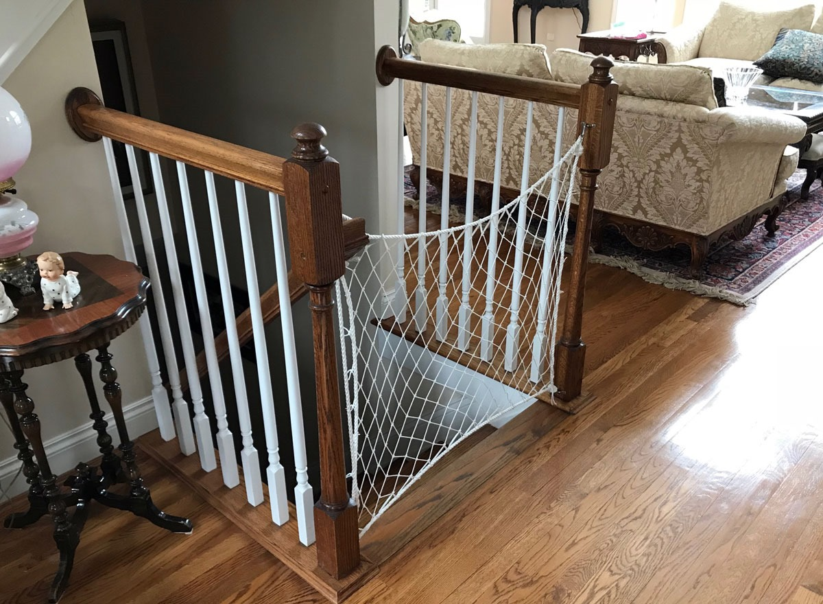 Returning To Nautical Flavored Child Safety Gates For The Stairs