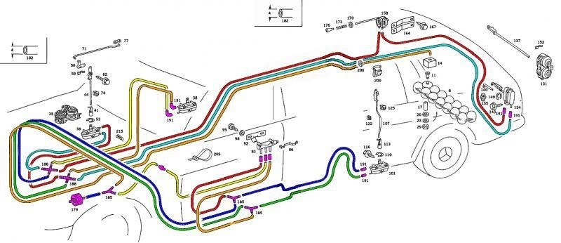 Chasing vacuum leaks in the Mercedes Benz 300D Turbodiesel