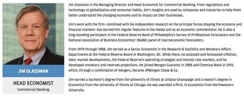 JimGlassmanHeadEconomistJPM