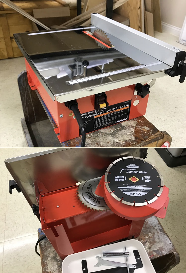 Can a small cheap wet saw double as a small portable table saw my can a small cheap wet saw double as a small portable table saw greentooth Images