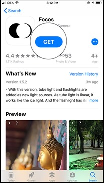 Download-Focos-app-on-your-iPhone-8-Plus-or-7-Plus-iPhone-X