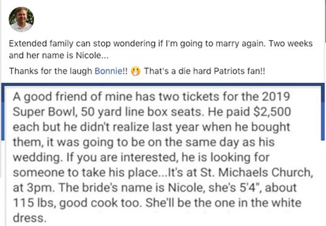 TicketsToSuperbowl2019joke