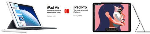 iPadAirORiPadPro