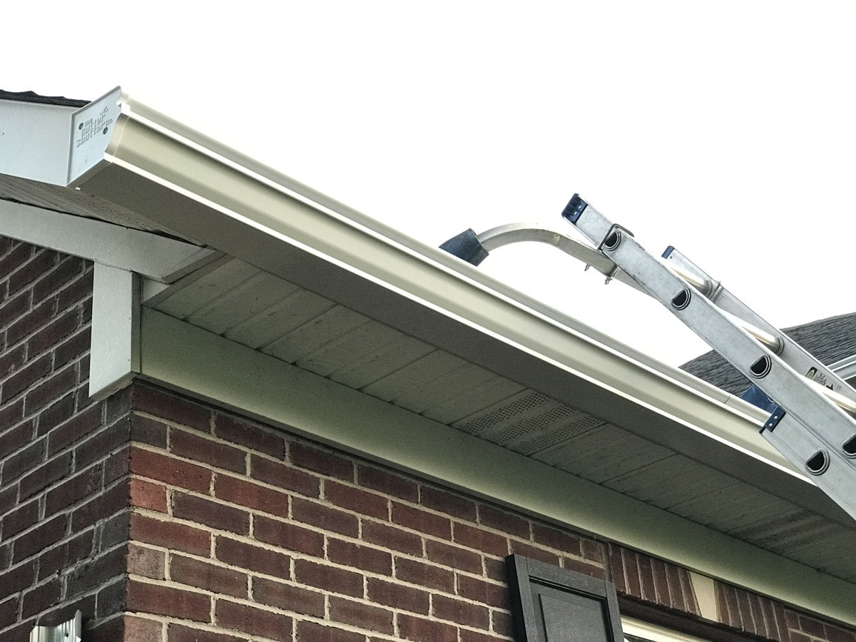 It Has Been Hot And An Update On The New Gutters For The